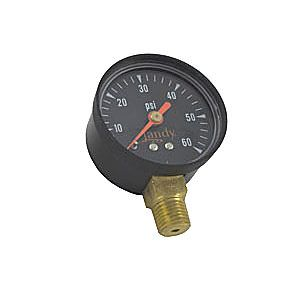 Jandy CS / CJ Filter Pressure Gauge (0-60 PSI) - R0556900