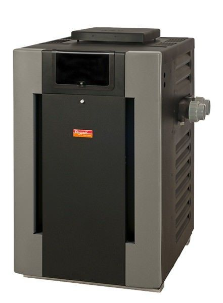 Raypak 266K BTU Digital Natural Gas Pool Heater - P-R266A-EN-C - 009217