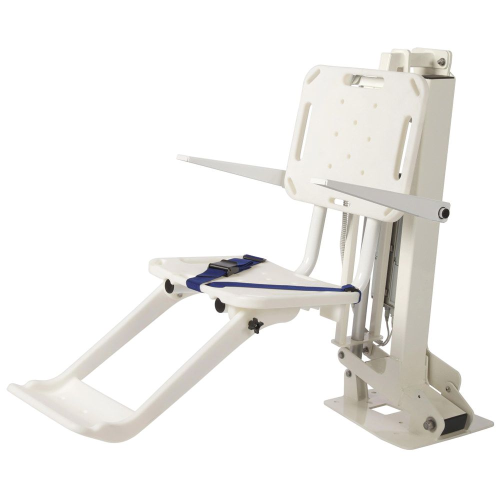 SR Smith MultiLift ADA Pool Lift with Folding Seat &amp; Armrests - 575-0105