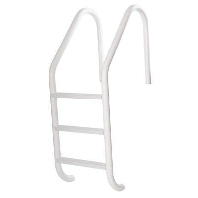 S.R. Smith 24 Inch Salt Resistant Pool Ladder - White
