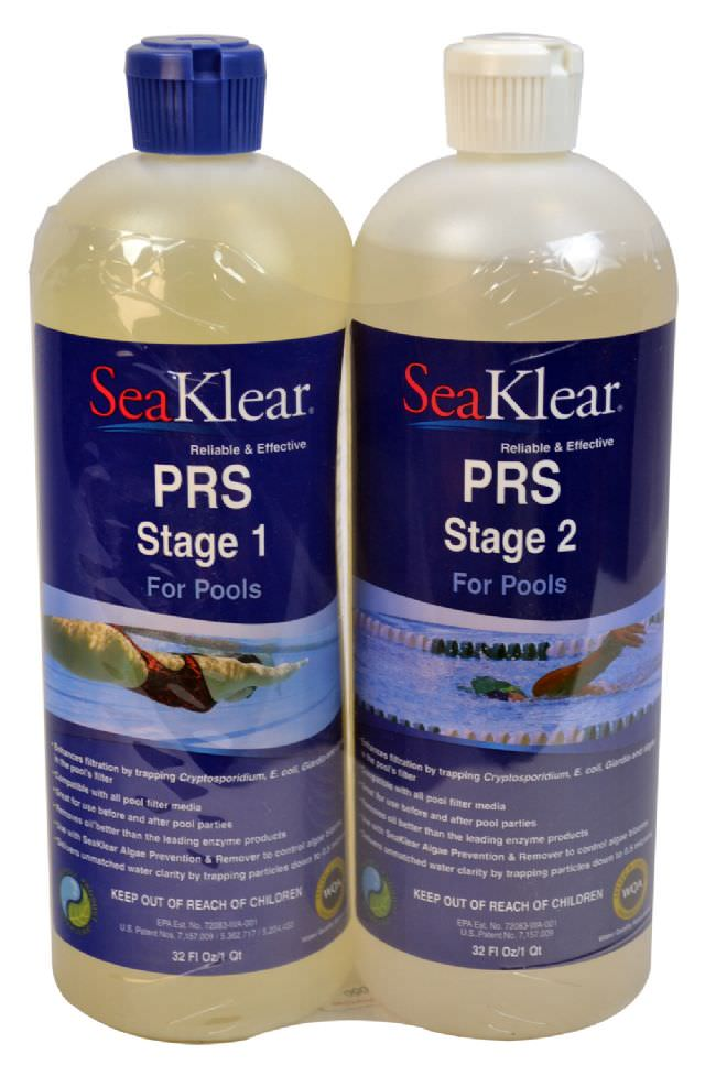 SeaKlear PRS Pool Particle Removal System - 2 Qt Kit