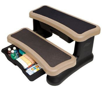 Leisure Concepts SMST-SD - Smart Step Spa Storage Steps - Sand
