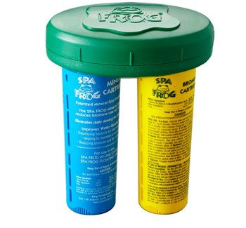 Pool Frog KTC-45-3882 - Spa Frog Mineral and Bromine Floating System