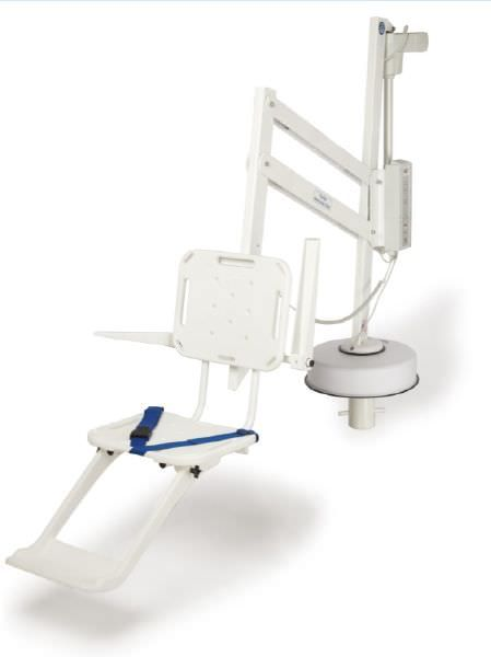 SR Smith Splash Hi/Lo ADA Pool Lift with Armrests - 350-0005
