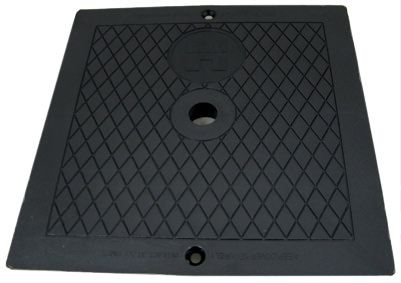 Hayward SP1080 Series 10 Inch Square Skimmer Lid SPX1082EBLK - Black