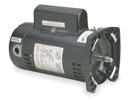 SQ1152 Pool Pump Motor 48Y Frame 1.5 HP Square Flange 230V