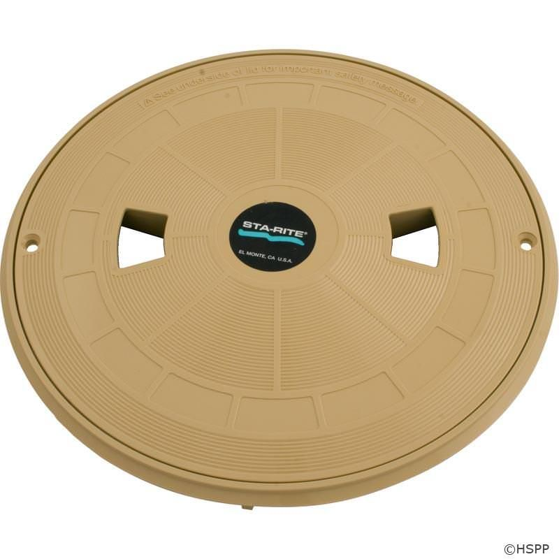 Sta-Rite U3 Skimmer Tan Lid and Ring - 08650-0159