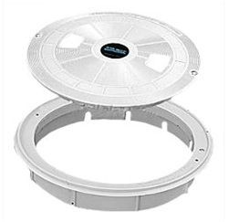 Sta-Rite SWQ-25-1568 - Sta-Rite U3 Skimmer White Lid and Ring 08650-0169