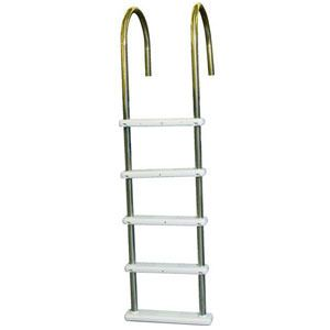 Blue Wave NE122SS - Standard Stainless Steel In-Pool Ladder for Above Ground Pools