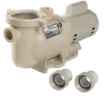Pentair PAC-10-0040 - Pentair SuperFlo 2 HP Pool Pump Up Rated 340040