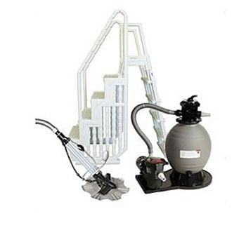 Blue Wave BNDL-SUPRE-SAND-SM - Supreme Small Sand Filter Equipment Packages