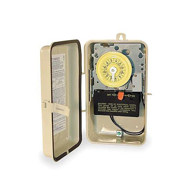 Intermatic INT-30-672 - Intermatic 24 Hr Pool Pump / Heater Timer w/ Heat Delay 220 Volt - T104R201