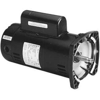 UQC1102 Pool Pump Motor 48Y Frame 1 HP Square Flange 115/230V - Energy Efficient