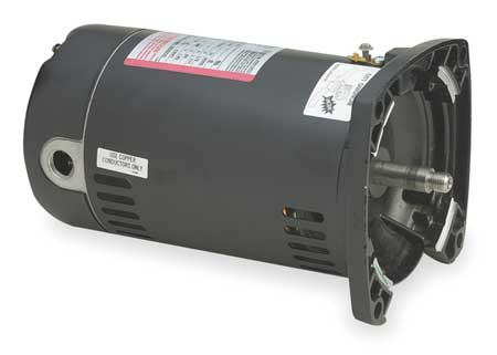 AO Smith AOS-60-5205 - USQ1052 Pool Pump Motor 48Y Frame 1/2 HP Square Flange 115/230V