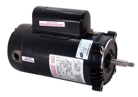 UST1202 2 HP Pool Pump Motor 56J Frame C-Face 115/230V