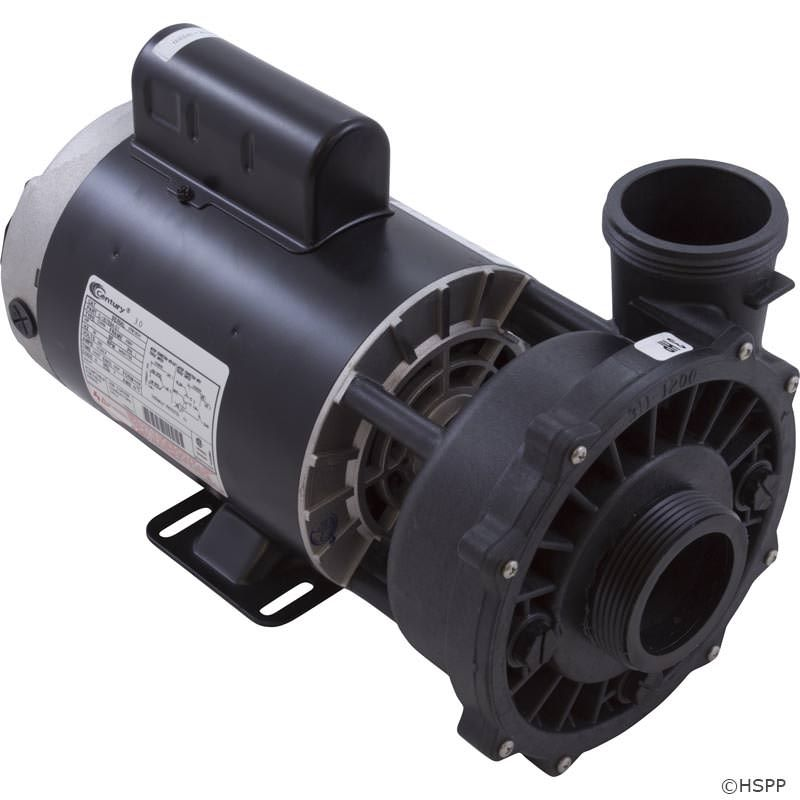 Waterway Executive 3 HP 1-Speed 230V Spa Pump - 56 Frame - 3711221-1D