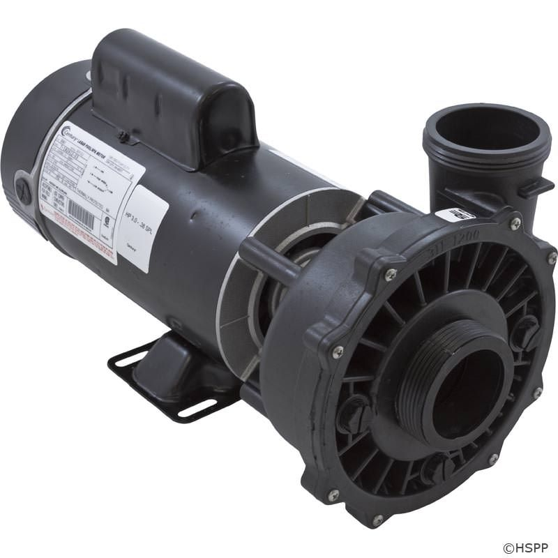"Waterway Executive 3 HP 2-Speed 230V 2"" Spa Pump - 48 Frame - 3421221-1A"