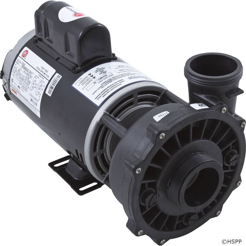 "Waterway Executive 4 HP 2-Speed 230V 2"" Spa Pump - 56 Frame - 3721621-1D"