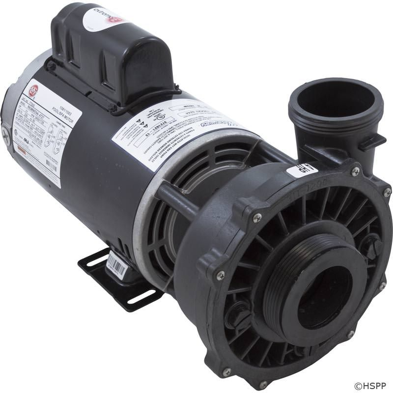 "Waterway Executive 4 HP 2-Speed 230V 2.5"" Spa Pump - 56 Frame - 3721621-13"
