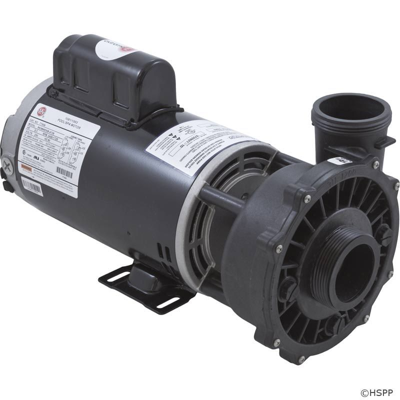 "Waterway Executive 5 HP 2-Speed 230V 2"" Spa Pump - 56 Frame - 3722021-1D"
