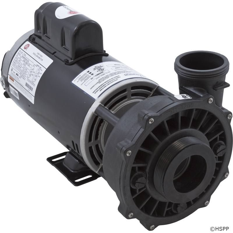 "Waterway Executive 5 HP 2-Speed 230V 2.5"" Spa Pump - 56 Frame - 3722021-13"