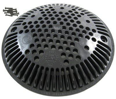 Hayward Black Anti-Vortex Main Drain Cover VGB - Floor Only - WGX1048EBLK