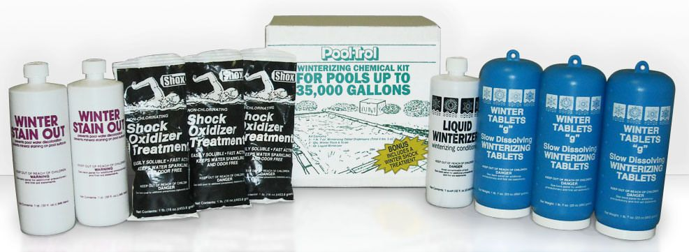 Winter Pool Chemical Kit for 35,000 Gallon Swimming Pools