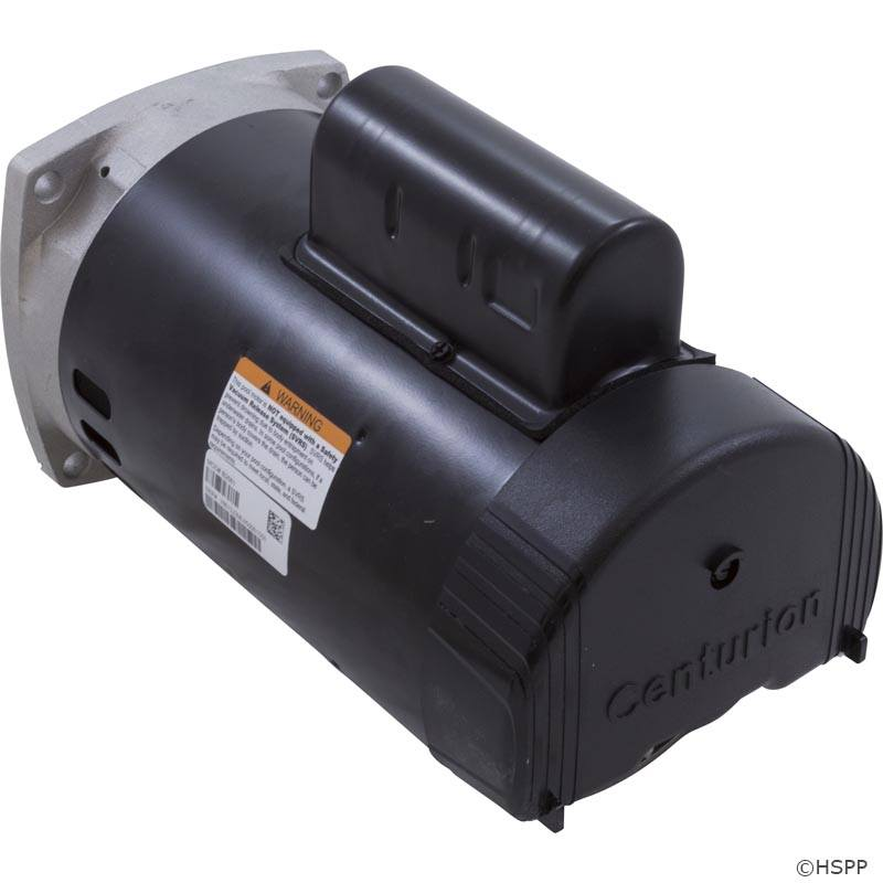 B2661 pool pump motors on sale at yourpoolhq for Square flange pool pump motor