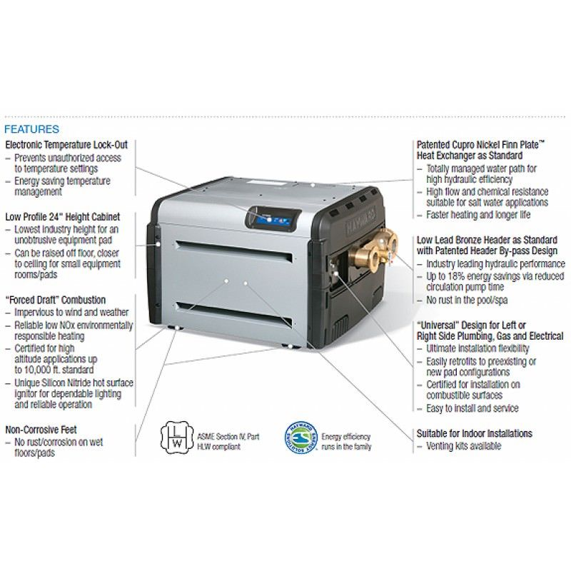 Hayward H400fdnasme Pool Heaters On Sale At Your Pool Hq