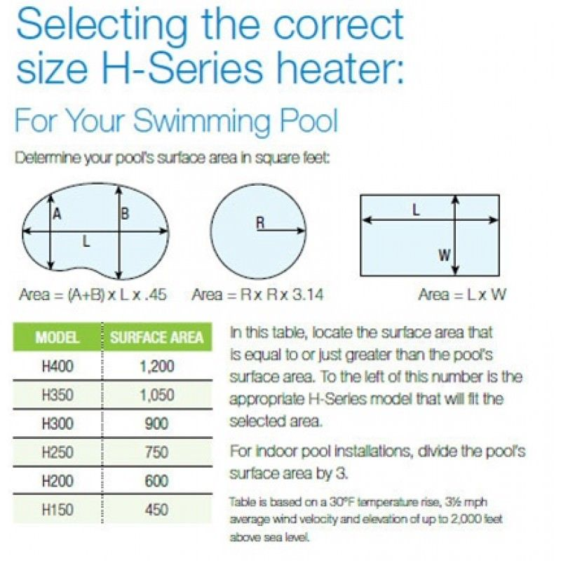 Hayward H250fdn Pool Heaters On Sale At Yourpoolhq