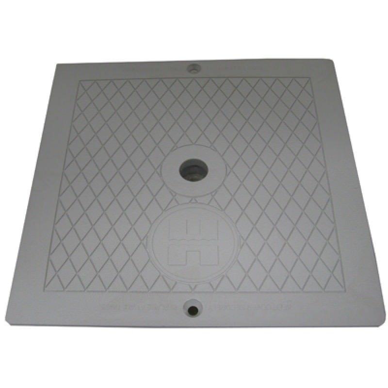Hayward Spx1082egr Gray 10 Inch Square Skimmer Lids On