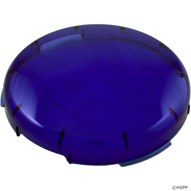 Pentair 78900800 Pool Light Blue Plastic Lens Covers On
