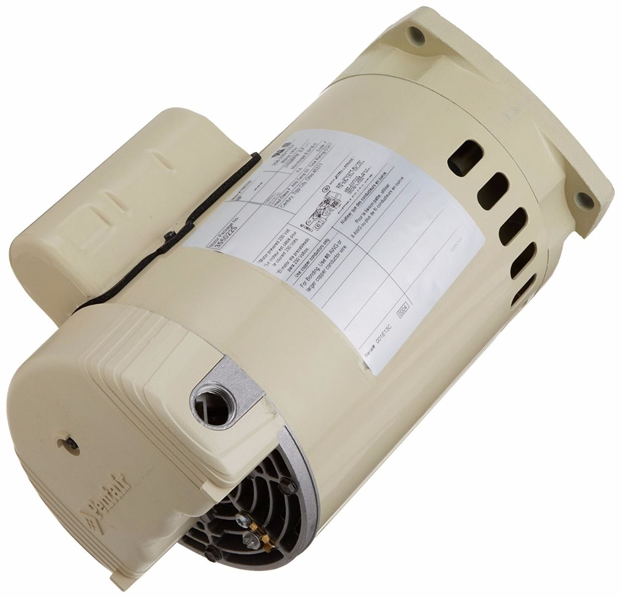 Pentair WhisperFlo / SuperFlo / Pinnacle 1 HP - 1.5 HP Motor 075234S / 355022S - 115/230V