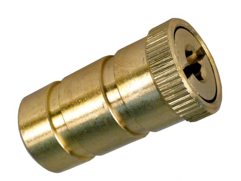 Brass Anchor for Pool Safety Cover - Screw Type