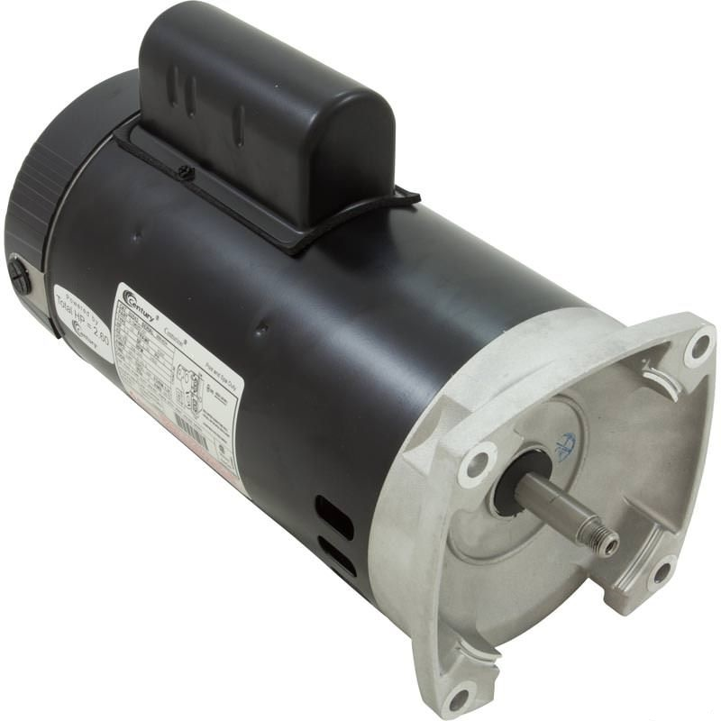 B2841, B2841V1 Pool Pump Motor 56Y Frame 1 HP Square Flange 115/208-230V - Energy Efficient
