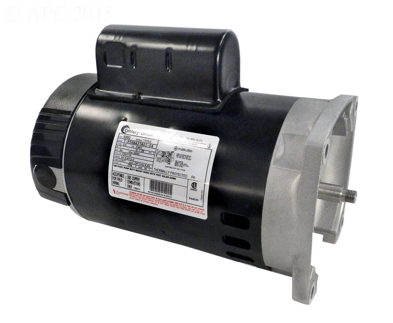 B853, B2853 Pool Pump Motor 56Y Frame 1 HP Square Flange 115/230V - Up Rate