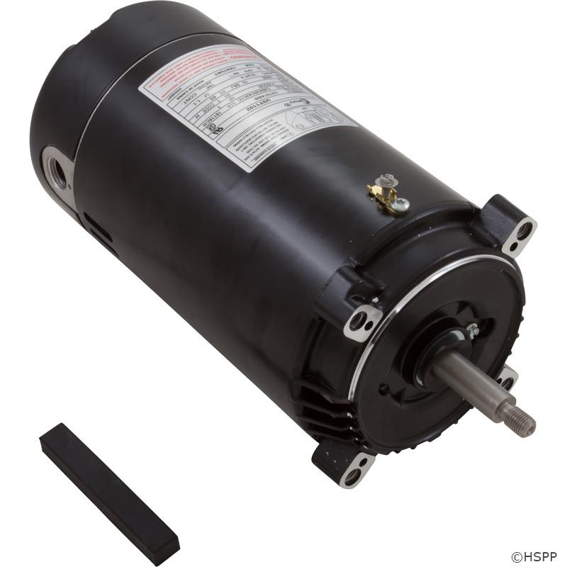UST1102 1 HP Pool Pump Motor 56J Frame C-Face 115/230V