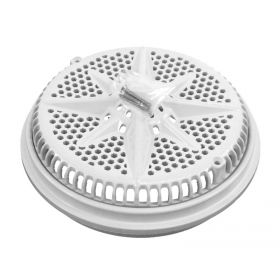 Pentair 500140 StarGuard Main Drain Covers with Long Rings - White - 2 Pack
