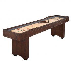 9 Foot Austin Shuffleboard Table - Mahogany