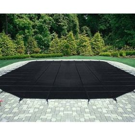 Commercial Black Mesh Pool Safety Cover 25 Year