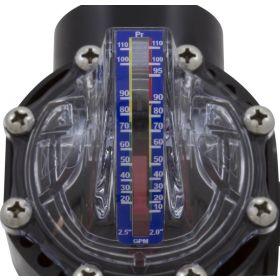 FlowVis FV-C Flow Meter with Check Valves