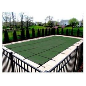 Green Mesh Pool Safety Cover - 15 yr