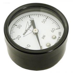 Pool Filter Pressure Gauge 0-60 PSI - Back Mount