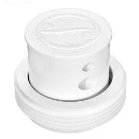 Paramount 004502500401 Pool Valet 2-Hole Nozzle with Ring - White