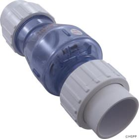 0823-15C True Union Spring Check Valve Clear