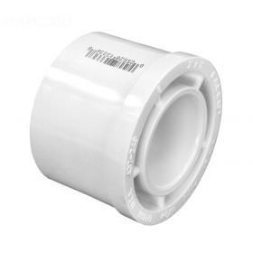 2 x 1 PVC Reducer Bushing - Flush Style - Slip - 437-249