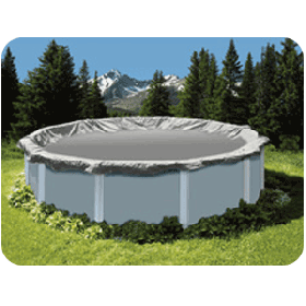 Above Ground Pool Winter Cover For 24 ft Round Pool 15yr Warranty