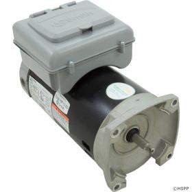 B2984T 2-Speed Pool Pump Motor 56Y Frame 2 HP 230V Integrated Timer