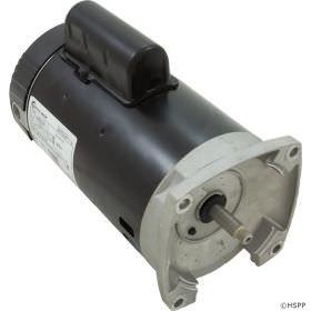 B855 Pool Pump Motor 56Y Frame 2 HP Square Flange 230V Up Rated