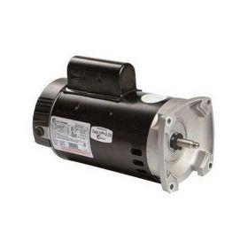 B985 2-Speed Pool Pump Motor 56Y Frame 2 HP Square Flange 230V - Full Rate